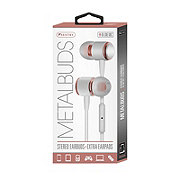 Sentry Earbuds Mic White Rose