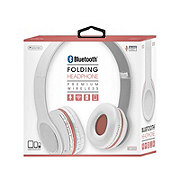 Sentry Folding Headphones White/pink