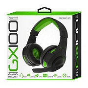 Sentry GX100 Gaming Headphones Green