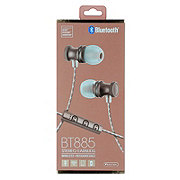 Sentry Rechargeable Wireless Stereo Earbuds Rose Gold