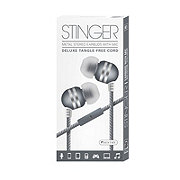Sentry Stinger Earbuds With Microphone, Green