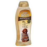 Sergeant's Gold Flea and Tick Green Tea and Ginger Shampoo For Dogs and Puppies