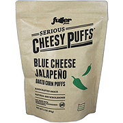 Serious Cheesy Puffs Serious Cheesy Puffs Blue Cheese Jalapeno