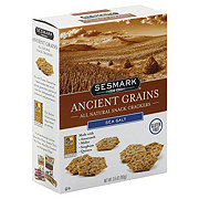 Sesmark Ancient Grains All Natural Sea Salt Snack Crackers