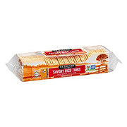 Sesmark Brown Rice Savory Rice Thins Crackers