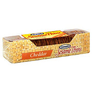 Sesmark Sesame Thins Cheddar Crackers