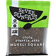 Seven Sundays Muesli Square Cocoa Pumpkin Seed