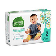 Seventh Generation Free & Clear Diapers with Animal Prints 36 ct