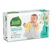 Seventh Generation Free & Clear Diapers with Animal Prints 40 ct
