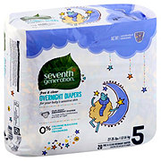 Seventh Generation Free & Clear Overnight Diapers 20 ct
