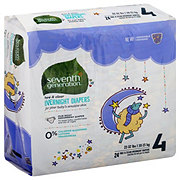 Seventh Generation Free & Clear Overnight Diapers 24 ct