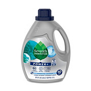 Seventh Generation Free & Clear Ultra Power Plus HE Liquid Laundry Detergent, 54 Loads