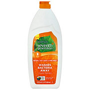 Seventh Generation Fresh Lemon & Tea Tree Scent Natural Dish Soap