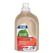 Seventh Generation Geranium Blossoms & Vanilla 4X Concentrated Natural Laundry Detergent, 66 Loads