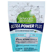 Seventh Generation Ultra Power Plus Dishwasher Detergent Packs