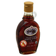 Shady Maple Farms Certified Organic Pure Maple Syrup Dark Amber