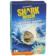 Shark Week Antibacterial Waterproof Bandages