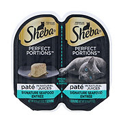 Sheba Perfect Portions Cat Food, Seafood Entree