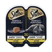 Sheba Perfect Portions Chicken and Tuna Entree
