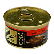 Sheba Premium Pate Cat Food Beef Entree in Natural Juices