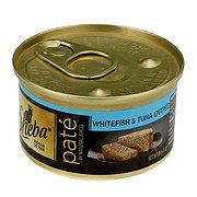 Sheba Premium Pate Whitefish and Tuna Entree