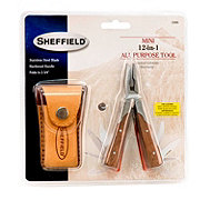 Sheffield Mini 12-in-1 All Purpose Tool, With Pouch