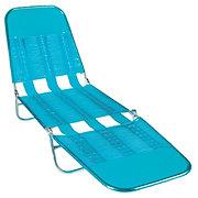 Shin Crest Teal Folding Lounge Chair