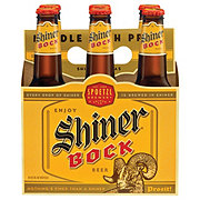 Shiner Bock  Beer 12 oz  Bottles
