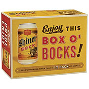 Shiner Bock  Beer 12 oz  Cans