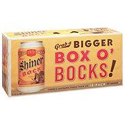 Shiner Bock Beer 12 oz  Cans