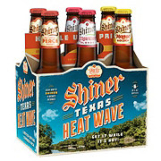 Shiner Bock Texas Heat Wave Beer Variety Pack 12 oz Bottles