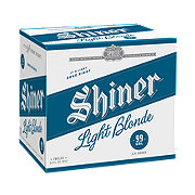 Shiner Light Blonde  Beer 12 oz  Bottles