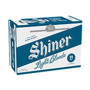 Shiner Light Blonde  Beer 12 oz  Cans