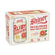Shiner Ruby Redbird Lager  Beer 12 oz  Bottles