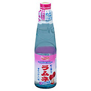 Shirakiku Carbonated Lychee Ramune Drink