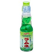 Shirakiku Carbonated Melon Ramune Drink