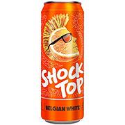 Shock Top Belgian White Beer Can