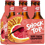 Shock Top Seasonal Ruby Fresh Grapefruit  Beer 12 oz  Bottles