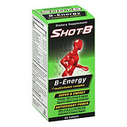 Shot B Energy Multivitamin Complex Tablets, 60 CT