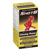 Shot B Ginseng 40.0 Capsules