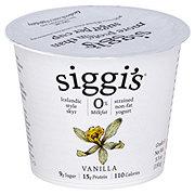 Siggi's 0% Non-Fat StrainedSkyrVanilla Yogurt
