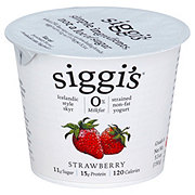 Siggi's 0% Non-Fat Strained Skyr StrawberryYogurt
