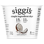 Siggi's 2% Non-Fat Strained Skyr Coconut Yogurt
