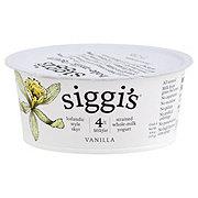 Siggi's 4% Vanilla Yogurt