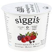 Siggi's Non-FatStrained Icelandic Style Skyr Acai & Mixed Berries Yogurt