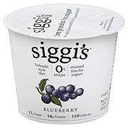 Siggi's Non-FatStrained Icelandic Style Skyr Blueberry Yogurt