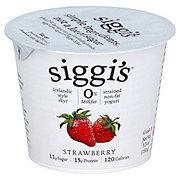 Siggi's Non-Fat Strained Icelandic Style SkyrStrawberry Yogurt