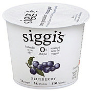 Siggi's Strained Non-Fat Icelandic Style Skyr Blueberry Yogurt