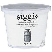 Siggi's Strained Non-Fat Plain Yogurt