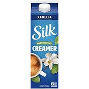 Silk Vanilla Soy Milk Liquid Coffee Creamer
